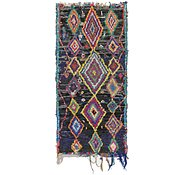 Link to 3' 5 x 7' 2 Moroccan Runner Rug