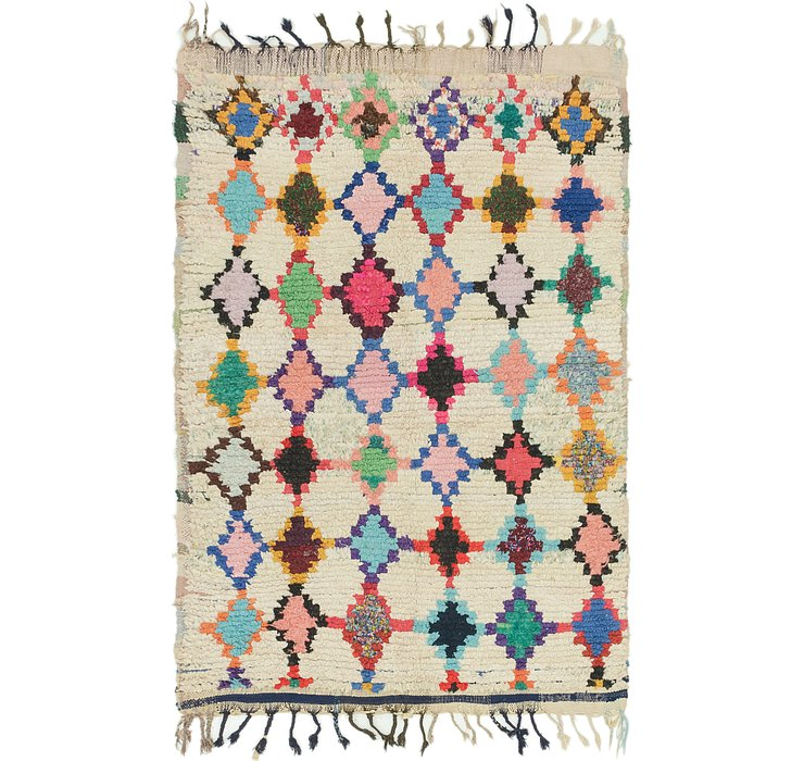4' 7 x 6' 7 Moroccan Rug