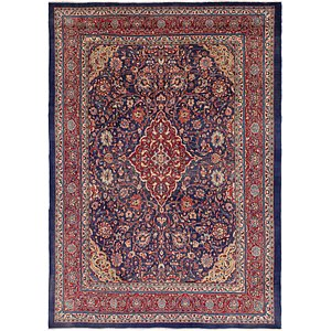Link to 9' 9 x 13' 8 Mahal Persian Rug item page