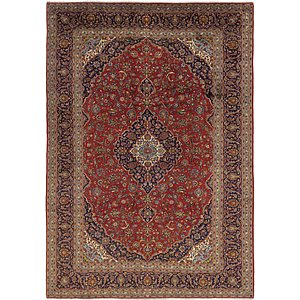 Link to 9' 9 x 13' 8 Kashan Persian Rug item page
