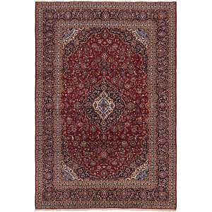 Link to 9' 9 x 12' 3 Kashan Persian Rug item page
