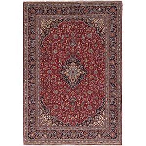 10' x 14' 2 Kashan Persian Rug