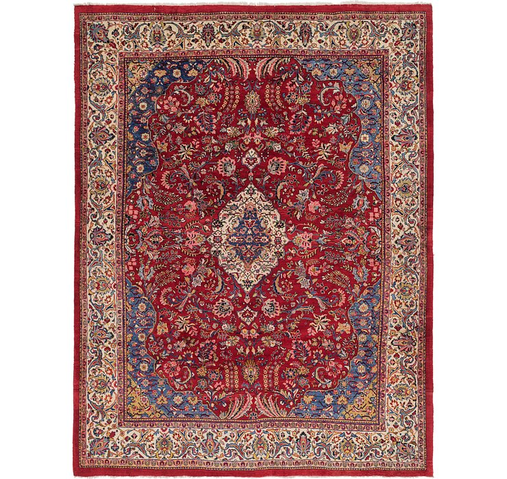9' 8 x 12' 8 Sarough Persian Rug