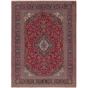 Link to 9' 10 x 13' Kashan Persian Rug item page