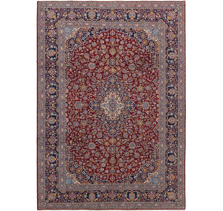9' 7 x 13' 3 Kashan Persian Rug