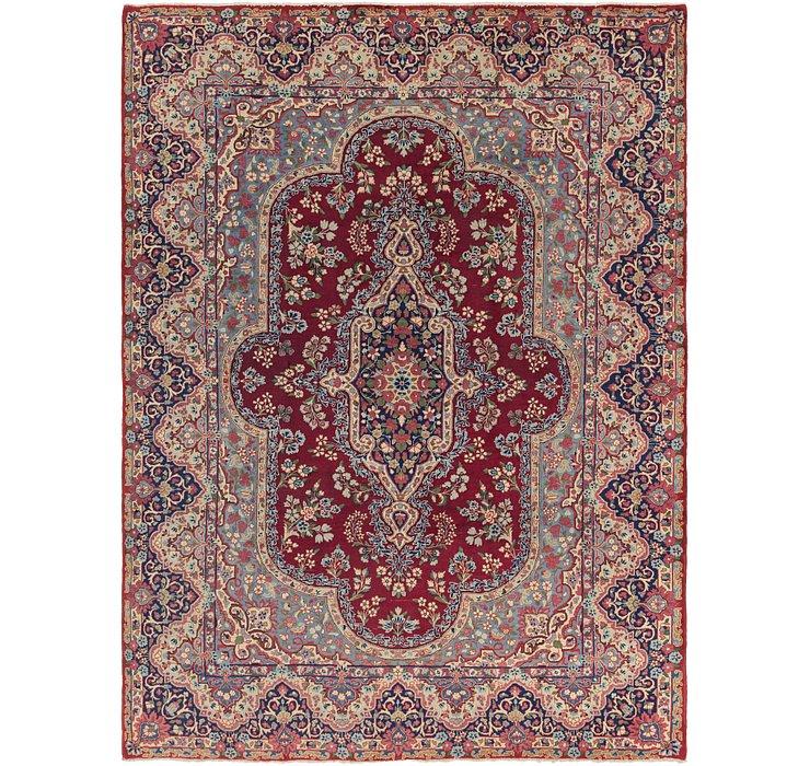 8' x 11' Kerman Persian Rug