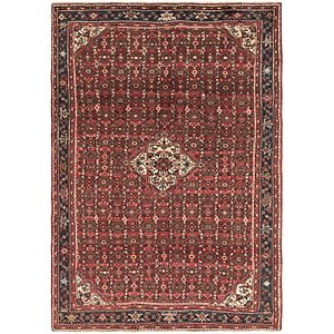 6' 8 x 9' 10 Hossainabad Persian Rug