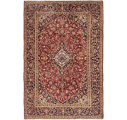 Link to 6' 6 x 10' Kashan Persian Rug