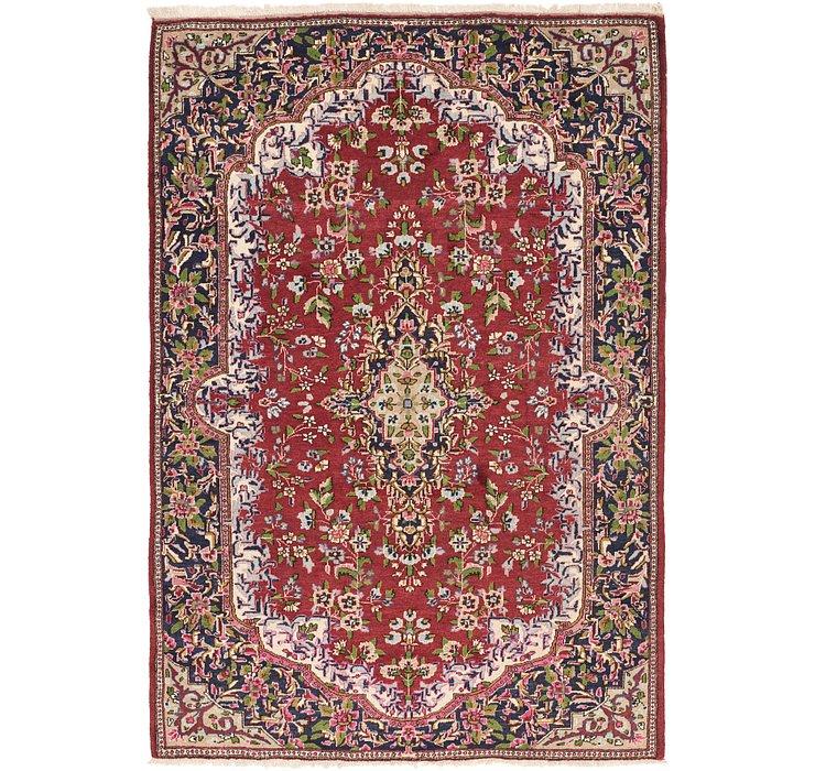 6' 6 x 10' Meshkabad Persian Rug