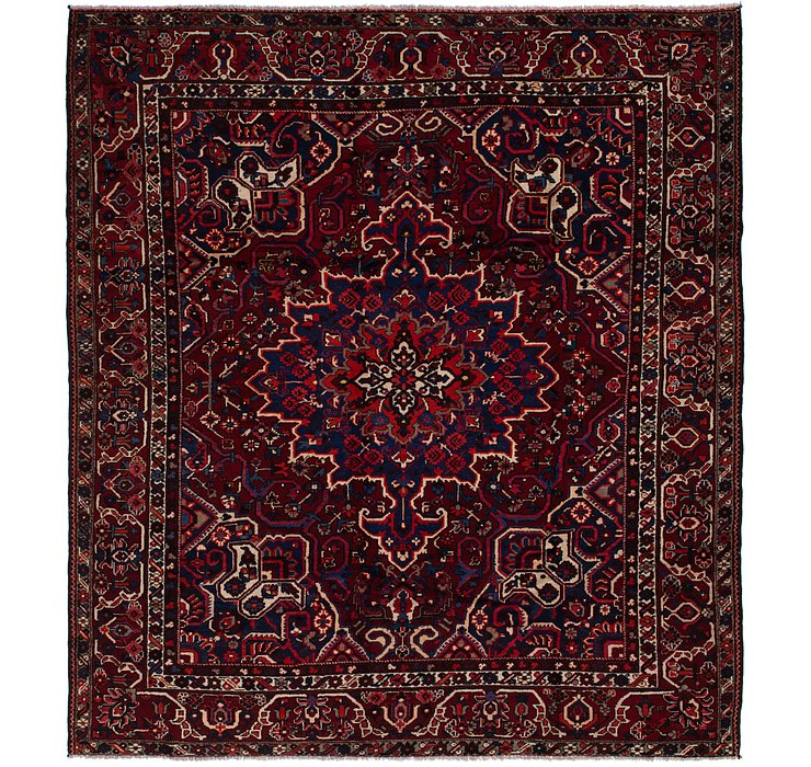 10' 5 x 11' 5 Bakhtiari Persian Squar...