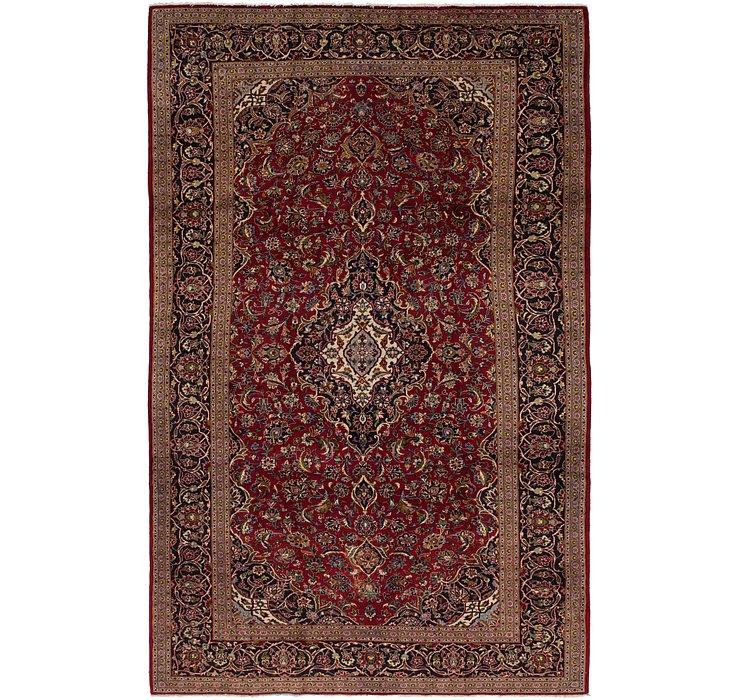 305cm x 390cm Kashan Persian Rug