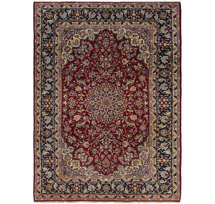 8' 10 x 12' 2 Isfahan Persian Rug
