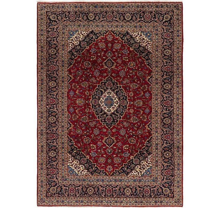 8' 4 x 11' 8 Kashan Persian Rug