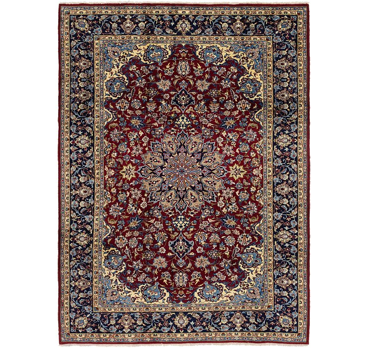 230cm x 323cm Isfahan Persian Rug