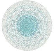 Link to 3' 10 x 3' 10 Braided Chindi Round Rug