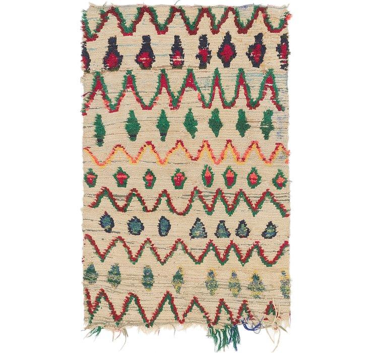 3' 6 x 5' 5 Moroccan Rug