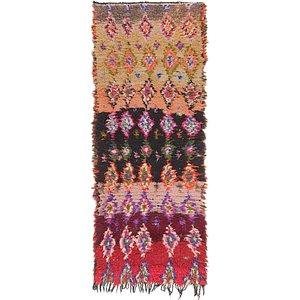 2' 6 x 6' 5 Moroccan Runner Rug