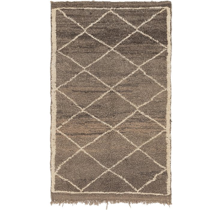 HandKnotted 3' 10 x 6' 3 Moroccan Rug