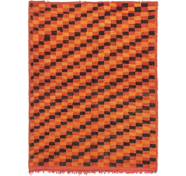 3' 8 x 4' 10 Moroccan Rug