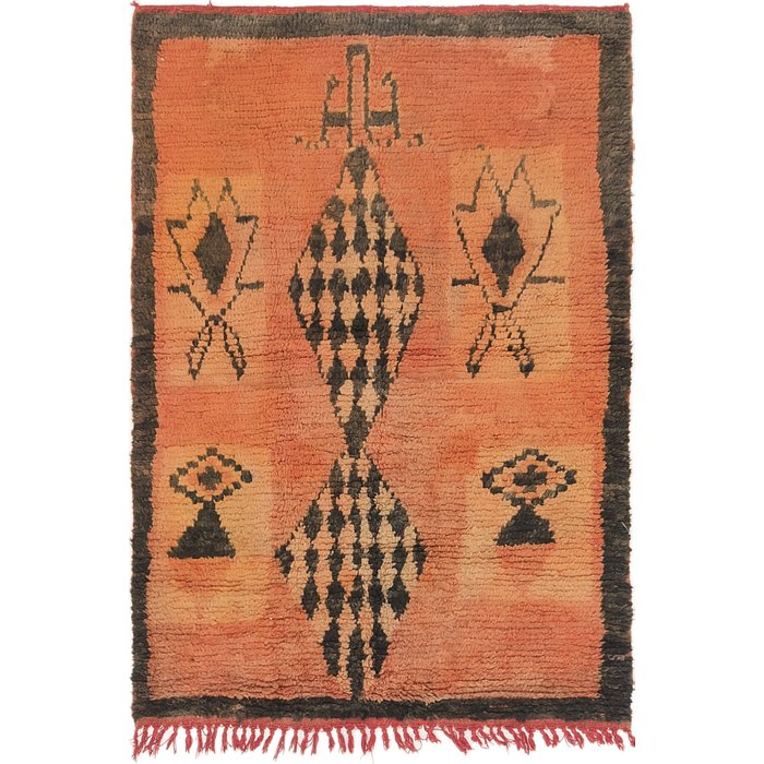 3' 8 x 5' 2 Moroccan Rug