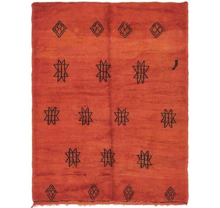 4' 4 x 5' 8 Moroccan Rug