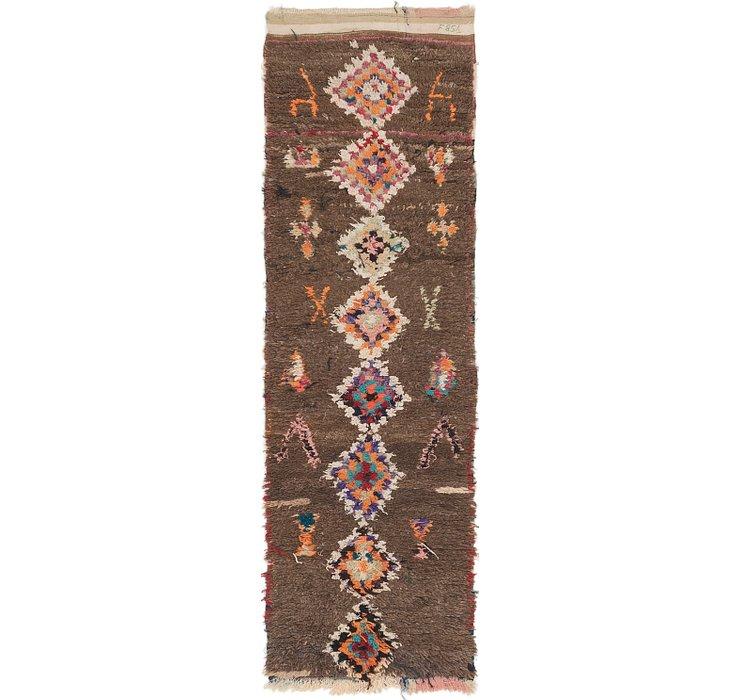2' 8 x 8' 5 Moroccan Runner Rug