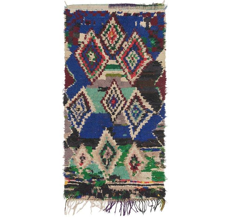 3' 6 x 6' 8 Moroccan Rug