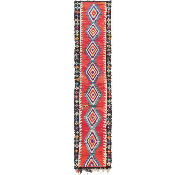 2' 6 x 11' Moroccan Runner Rug