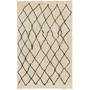 4' x 6' 4 Moroccan Rug