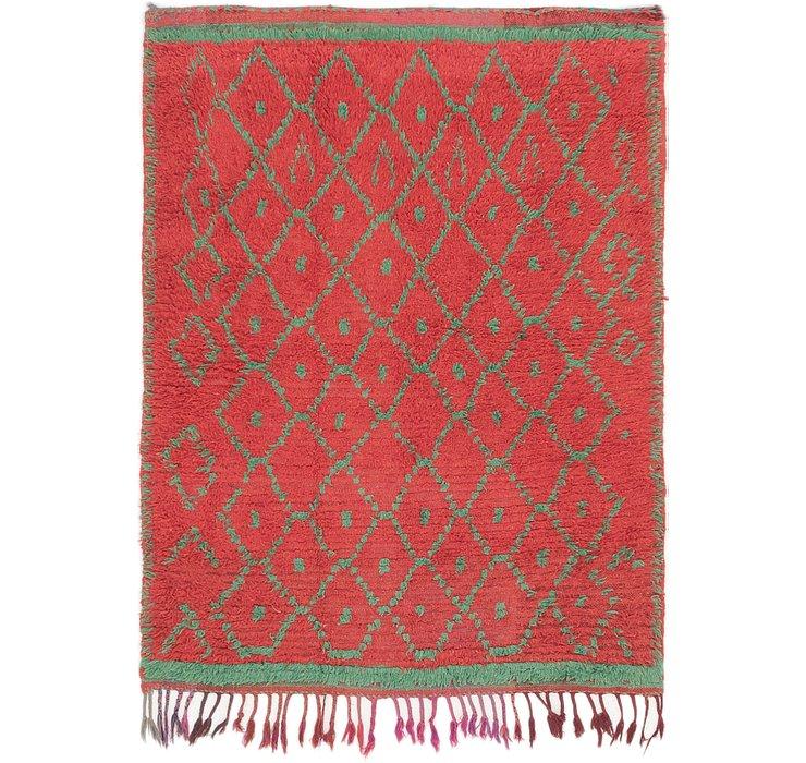 4' 2 x 5' 4 Moroccan Rug