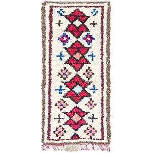 Link to 90cm x 198cm Moroccan Runner Rug item page