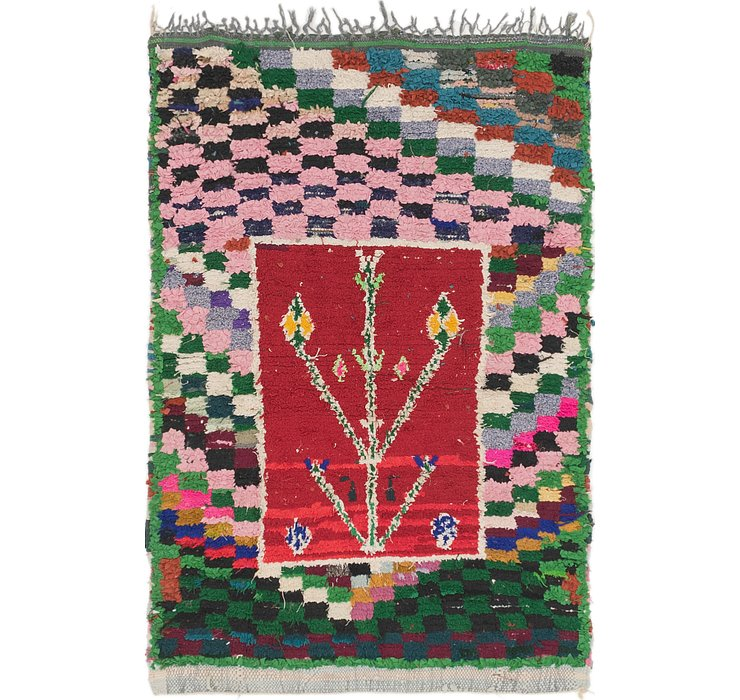 3' 7 x 5' 4 Moroccan Rug