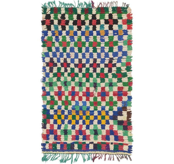 3' 5 x 5' 9 Moroccan Rug