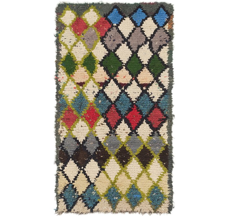 3' x 5' 5 Moroccan Rug