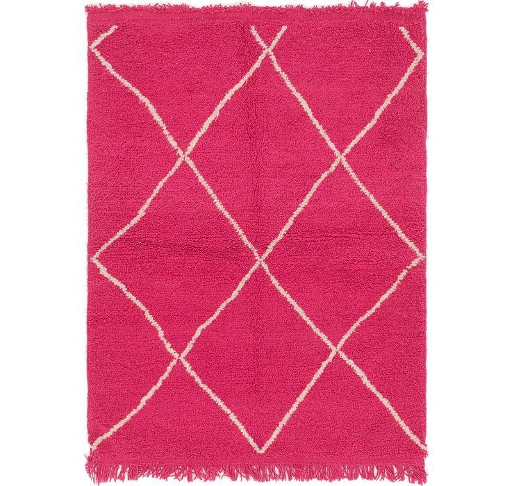 4' x 5' 2 Moroccan Rug