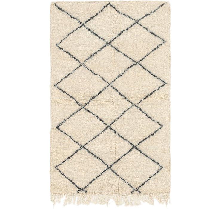 3' x 4' 8 Moroccan Rug