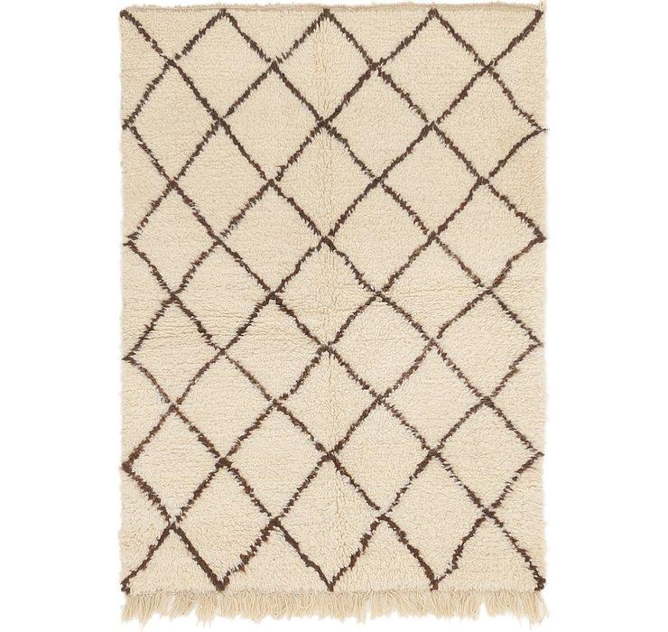 4' x 5' 6 Moroccan Rug