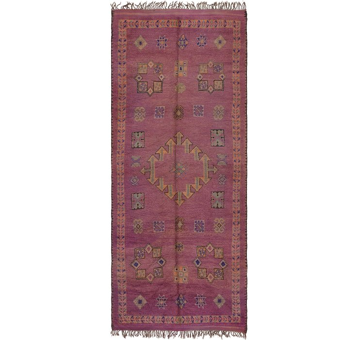 HandKnotted 6' 4 x 15' 9 Moroccan Runner Rug