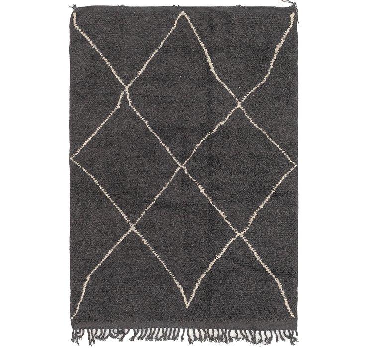 5' x 7' 10 Moroccan Rug