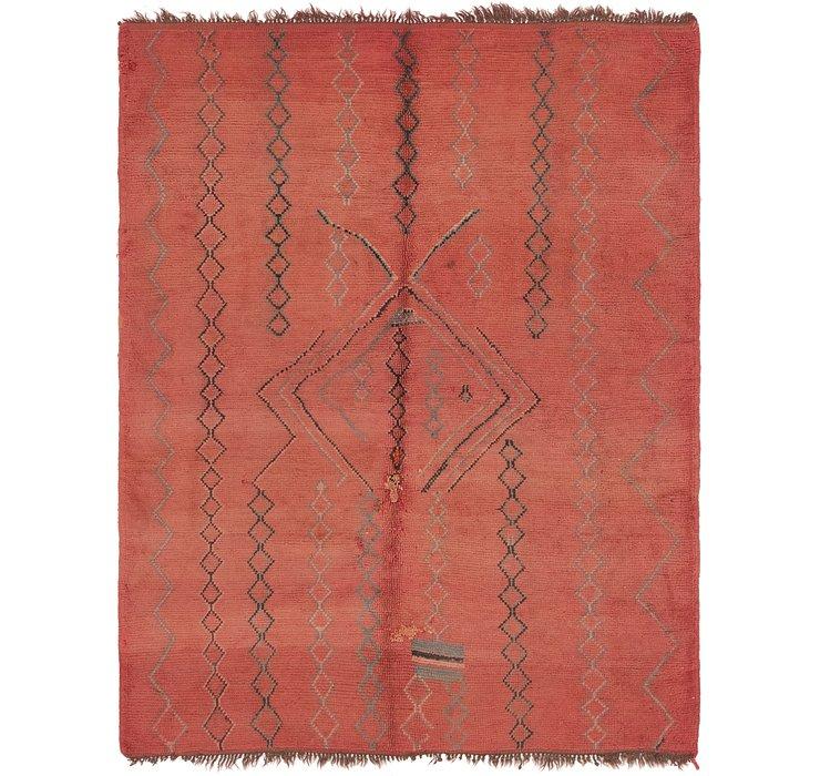 5' 9 x 7' 4 Moroccan Rug
