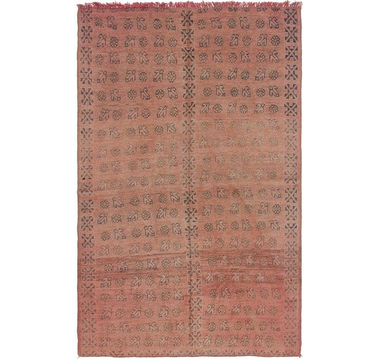 5' 6 x 8' 6 Moroccan Rug