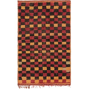 4' 2 x 6' 9 Moroccan Rug