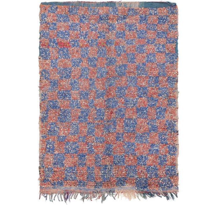 4' 9 x 6' 7 Moroccan Rug