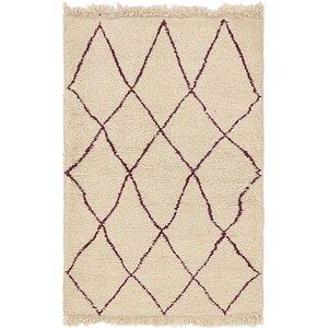 Unique Loom 3' 4 x 5' 2 Moroccan Rug