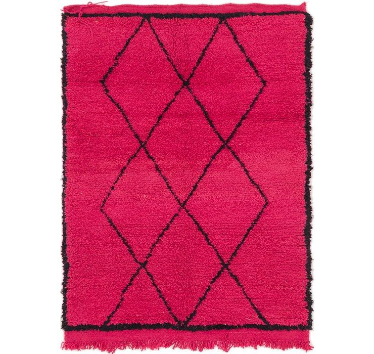 110cm x 147cm Moroccan Rug