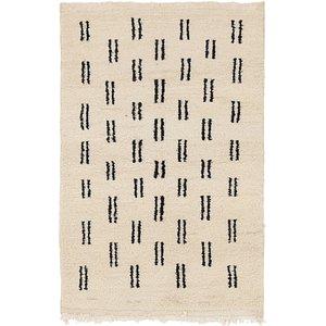 Unique Loom 3' 4 x 5' Moroccan Rug