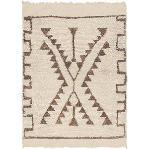 Unique Loom 3' 5 x 4' 9 Moroccan Rug