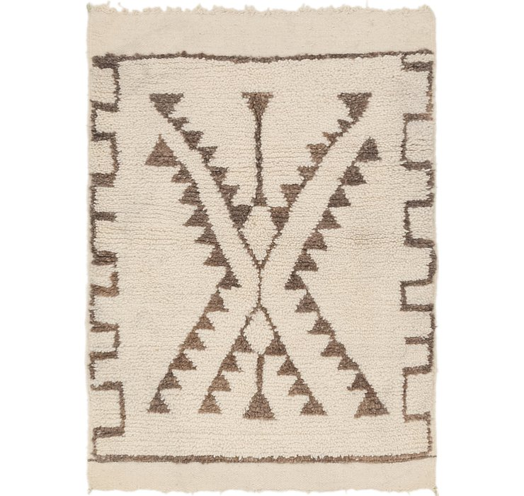 3' 5 x 4' 9 Moroccan Rug