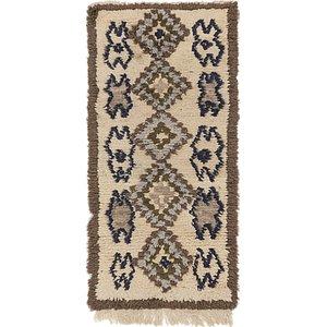 Unique Loom 2' 6 x 5' Moroccan Rug