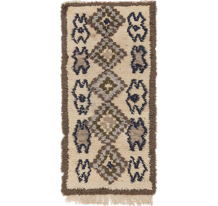 2' 6 x 5' Moroccan Rug